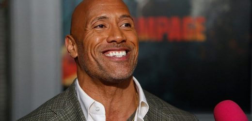 Social media blasts The Rock over photo of his daughter at pool