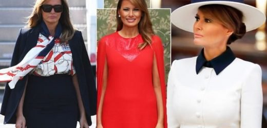 Melania Trump: Donald Trump's wife spent this eye-watering sum on wardrobe for UK visit