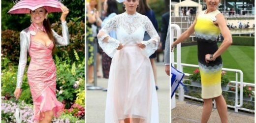 Royal Ascot revellers look hot to trot at day two of the races