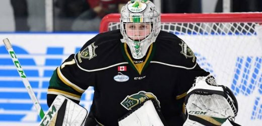 London goalie becomes latest local to make OHL commitment