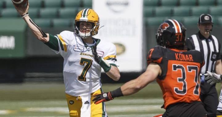 New-look Edmonton Eskimos look to return to CFL playoffs