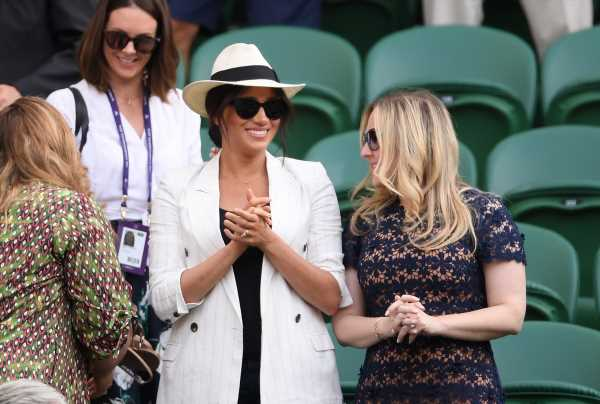 The Hat Meghan Markle Wore To Wimbledon Is Under $60 & Still Available To Buy