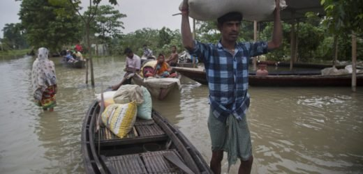 Millions displaced, more than 100 killed in South Asia floods