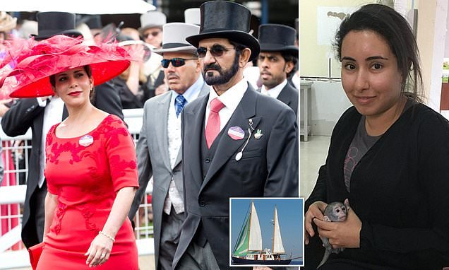 Princess Haya escaped Dubai after ruler LIED about