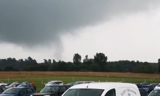 Tornado rips through Manchester damaging buildings, cars and trees