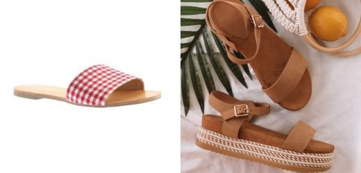 Show Off Your Toes in the Hottest Sandals of the Season From Walmart — Starting at $7!