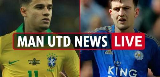 1.30pm Man Utd transfer news LIVE: £80m Maguire medical TODAY, Coutinho loan blow, Fernandes blow, Lukaku to Inter – The Sun