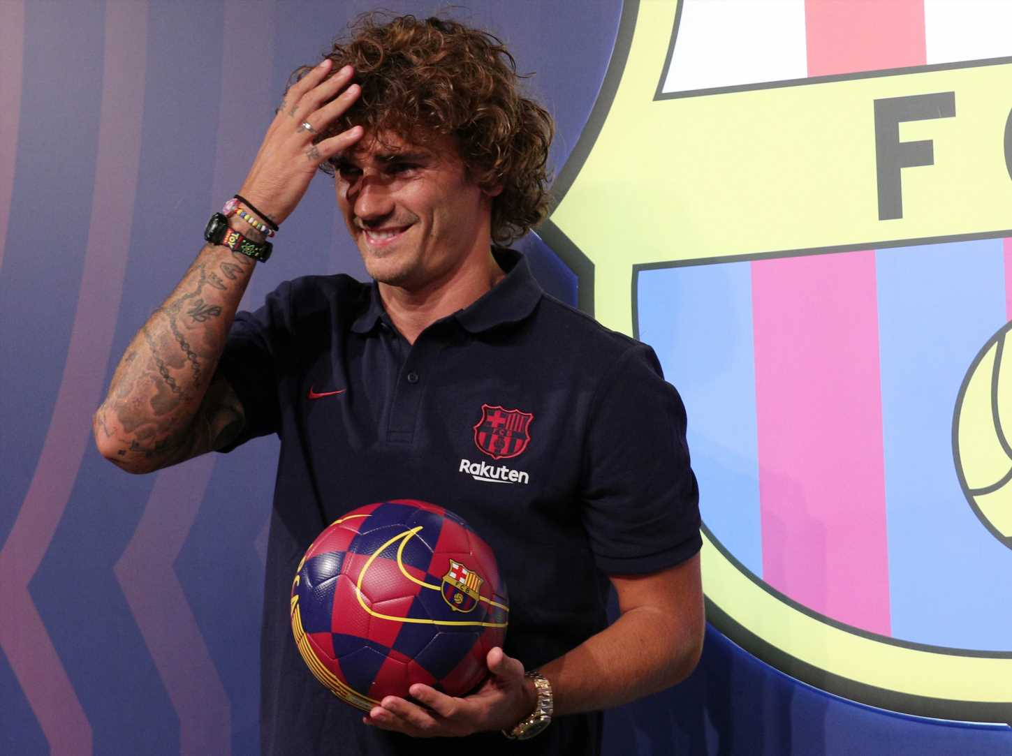 Barcelona a staggering £800MILLION in debt after buying £108m Griezmann from Atletico Madrid – The Sun