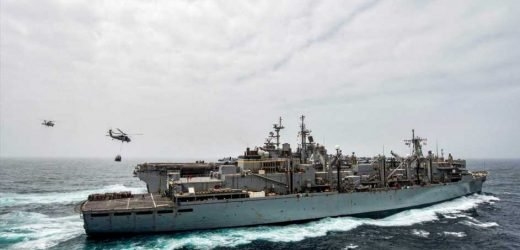 US warship shoots down Iranian drone buzzing it in the Strait of Hormuz amid escalating tensions