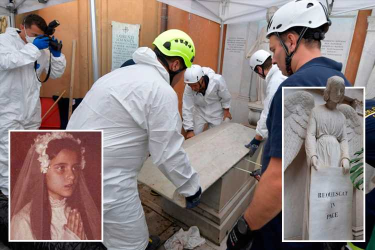 Holy Vatican tombs re-opened in hunt for girl who vanished 36 years ago after creepy 'angel' tip-off – The Sun