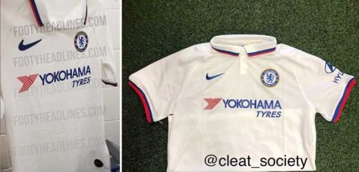 Chelsea new 2019-20 away kit leaked with subtle dig at London rivals Arsenal, Tottenham and West Ham inside the collar – The Sun