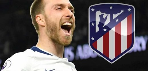 Atletico Madrid join Christian Eriksen transfer hunt with Spurs star identified as potential Antoine Griezmann replacement – The Sun