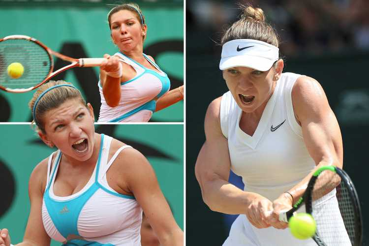 Simona Halep's incredible sacrifice to reach the final of Wimbledon saw her undergo breast reduction surgery – The Sun