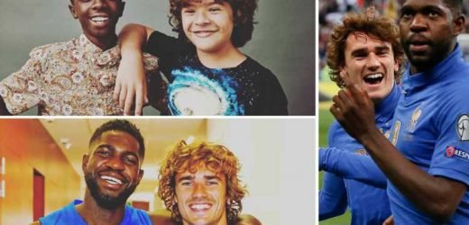 Antoine Griezmann sends fans into hysterics with amazing comparison of him and Samuel Umtiti with Stranger Things' Dustin and Lucas – The Sun