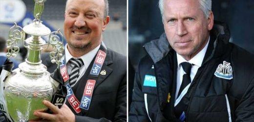 How Steve Bruce's Newcastle predecessors Rafa Benitez, Alan Pardew and Co fared under Mike Ashley – The Sun