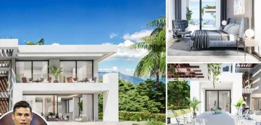 Inside Cristiano Ronaldo's new £1.3m Marbella villa with infinity pool and cinema room – The Sun