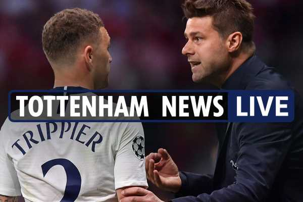 12pm Tottenham transfer news LIVE: Trippier to Bayern Munich, Dani Alves contact made, Moura in Pochettino dig