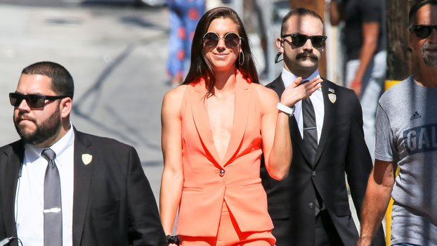 Give Alex Morgan Another Trophy Because This Suit Is Definitely a Win
