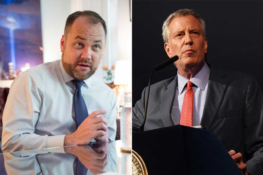 'De-facto mayor' Corey Johnson slams de Blasio for missing blackout