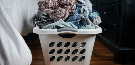 We should all be washing our clothes less, not more