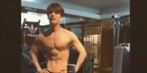 K-Pop Star Jackson Surprises Fans With Hot Shirtless Bottle Cap Challenge Video – Watch!