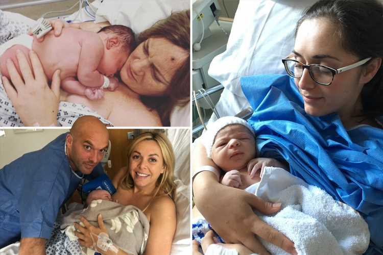 Three women share the stories behind their post-birth Insta pics – The Sun