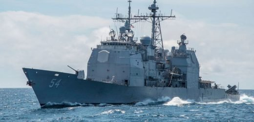 US warship sails through Taiwan strait amid China tensions