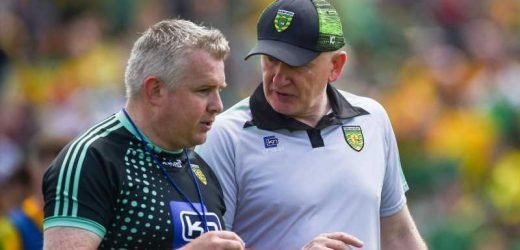 Declan Bonner says Donegal must improve for Kerry