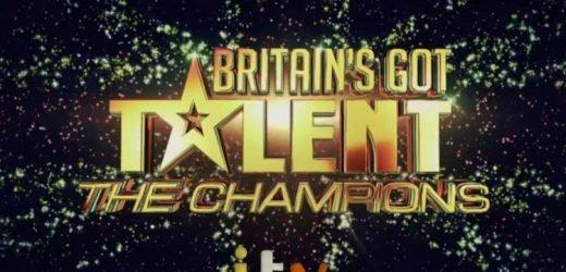 Britain's Got Talent The Champions start date, contestants, judges, trailer