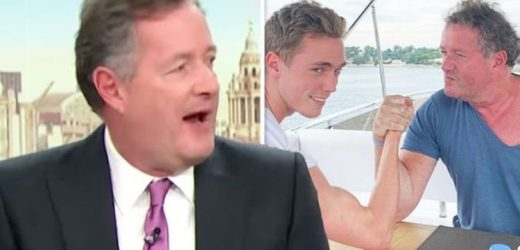 Piers Morgan reveals 'ferocious contest' with actor son during break away from GMB