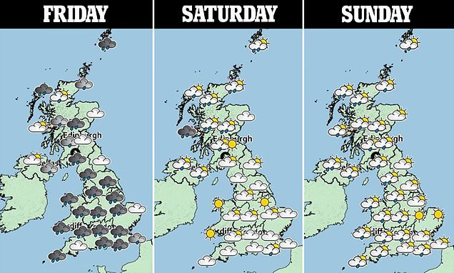 Britain braces for more flooding with a month's rain set to fall today