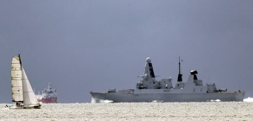 Royal Navy sending HMS Defender its THIRD warship to the Gulf