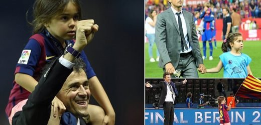 Luis Enrique announces death of 9-year-old daughter Xana