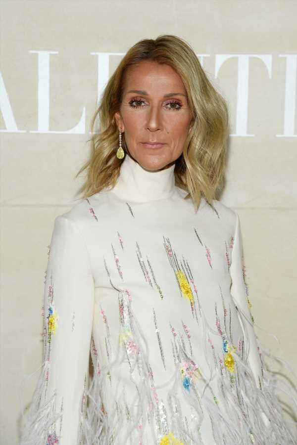 Celine Dion Just Debuted A Black Pixie Cut & She Looks Totally Different