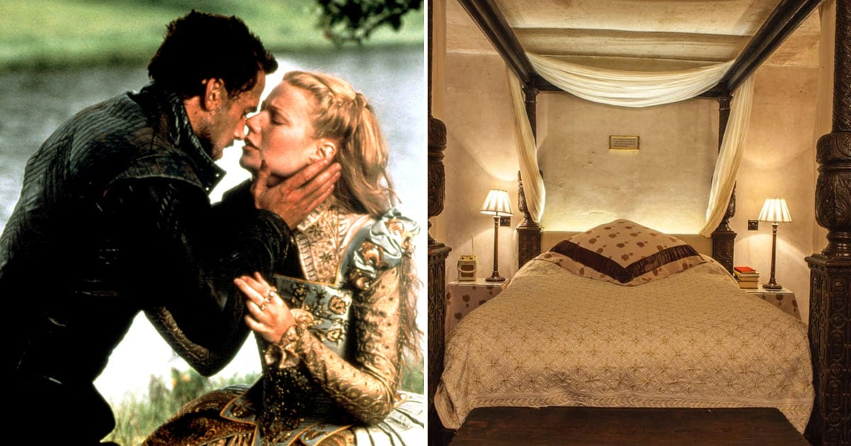 Thanks to This Airbnb, You Can Stay in the Bed Made Famous by THAT Shakespeare in Love Scene