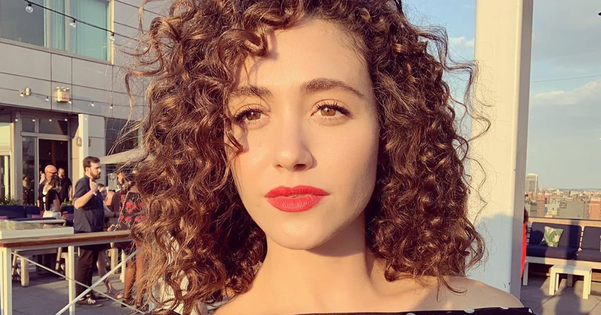 Emmy Rossum's Curls Have So Much Body, They're Having Their Own Hot Curl Summer