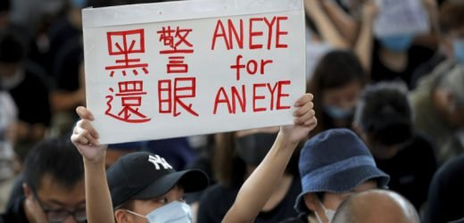 China is waging a Russia-style disinformation war on Hong Kong