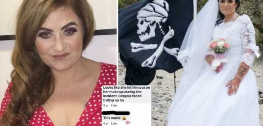 I was trolled a 'million times a day' after telling people I'd married a pirate ghost