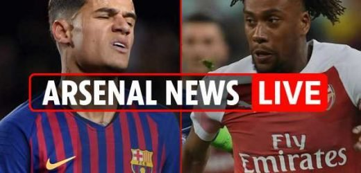 1.30pm Arsenal transfer news LIVE: Coutinho could head to PSG or Bayern, David Luiz and Tierney JOIN, £40m Iwobi to Everton – The Sun