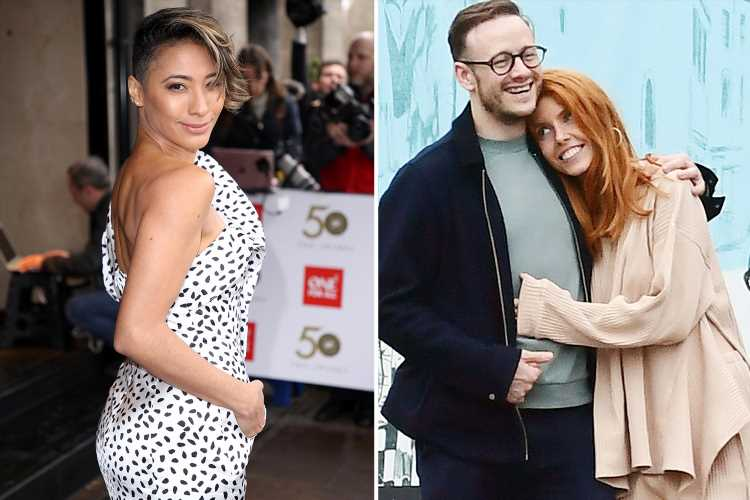 Strictly's Karen Clifton breaks her silence on ex Kevin's relationship with Stacey Dooley and insists she's 'happy if he's happy'