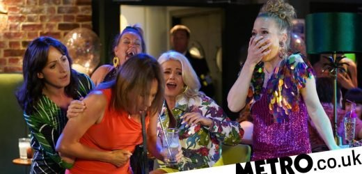 Disaster strikes at Whitney's hen do in EastEnders