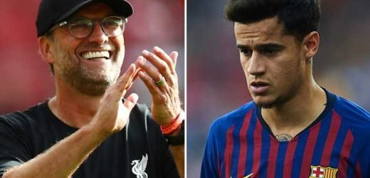 Liverpool 'set for £18m windfall' off Philippe Coutinho loan to Bayern Munich – The Sun
