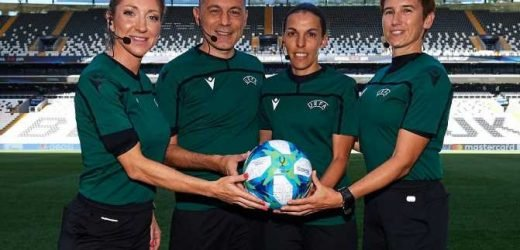 Who are the refereeing team for the Super Cup? Stephanie Frappart making history – The Sun
