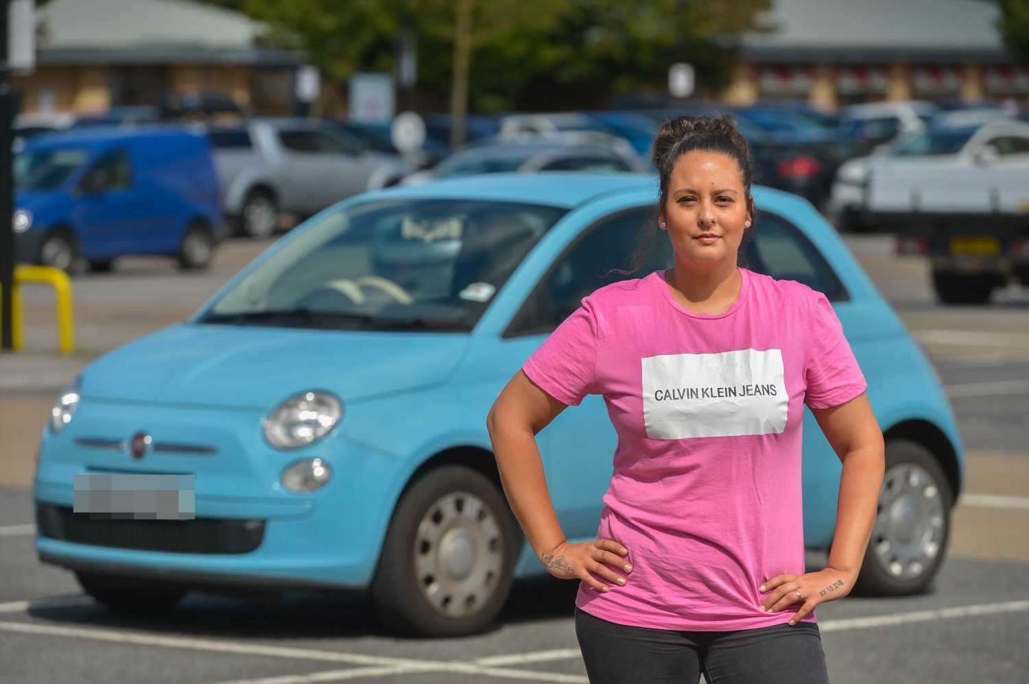 Costa Coffee supervisor hit with whopping £7,000 in parking fines for using her work's car park after licence plate typo