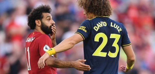 Mo Salah told David Luiz 'I didn't feel you touch me' after huge penalty call in Arsenal defeat to Liverpool – The Sun