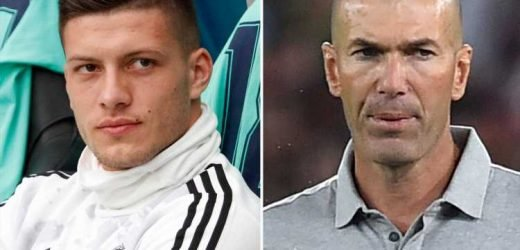 Real Madrid striker Luka Jovic 'available on loan just two months after £58m transfer after failing to impress Zidane – The Sun