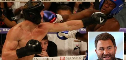 KSI vs Logan Paul rematch: Eddie Hearn 'to promote' huge fight between YouTubers on November 9 – The Sun