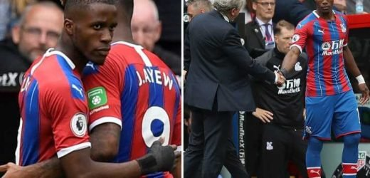 Crystal Palace fans forgive wantaway star Zaha by giving him hero's welcome during 0-0 draw against Everton – The Sun