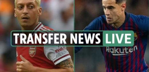 9.30am transfer news LIVE: Coutinho close to Bayern Munich move, Arsenal's Ozil wanted at DC United, Man Utd's Sanchez LATEST – The Sun