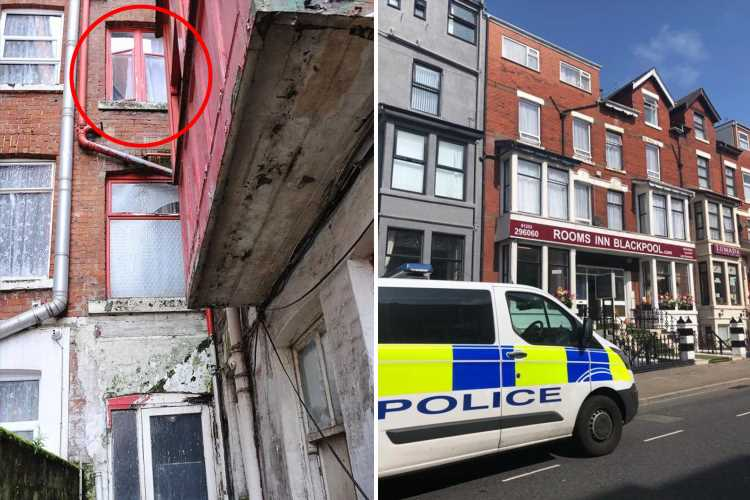 Chef yells 'your baby's on the floor' after girl, 2, 'fractures skull' in horrifying 30ft fall from hotel window